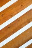 El echar a un lado en la cabaña de madera Imagenes de archivo