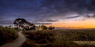 El EcoCenter en Palo Alto Baylands, California Fotos de archivo