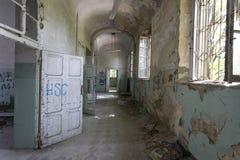 El edificio abandonado del hospital llamó Mombello Fotografía de archivo