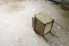 El edificio abandonado del hospital llamó Mombello Foto de archivo libre de regalías