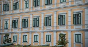 El edificio coloursful foto de archivo libre de regalías
