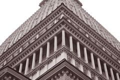 El edificio de Antonelliana del topo, Turín Imagen de archivo libre de regalías