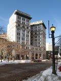 El edificio de banco de M&T Foto de archivo