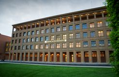 El edificio de batería en Florencia Foto de archivo libre de regalías