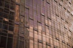 El edificio de cristal Foto de archivo libre de regalías
