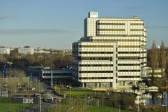 El edificio de IBM Imagen de archivo