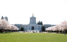 El edificio de la Capital del Estado de Oregon. Foto de archivo libre de regalías