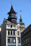 El edificio de la casa de comercio Rica Fotografía de archivo libre de regalías