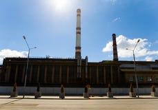 El edificio de la compañía de la energía en el viaje de 2 Kozhukhovsky Imagen de archivo