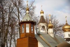 El edificio de la iglesia ortodoxa Fotos de archivo libres de regalías