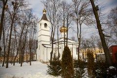 El edificio de la iglesia ortodoxa Imágenes de archivo libres de regalías