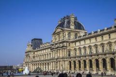 El edificio de la lumbrera en París fotos de archivo libres de regalías