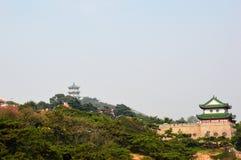 El edificio de la pagoda Fotografía de archivo libre de regalías