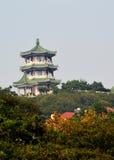 El edificio de la pagoda Fotografía de archivo