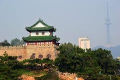 El edificio de la pagoda Foto de archivo libre de regalías