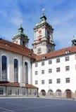 El edificio de la universidad del St. Gallen. Fotos de archivo libres de regalías
