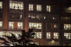 El edificio de oficinas Imagen de archivo