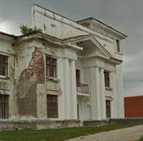 El edificio de piedra viejo Imagen de archivo libre de regalías