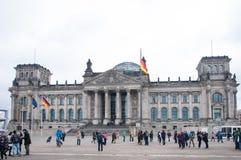 El edificio de Reichstag Foto de archivo libre de regalías