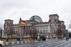 El edificio de Reichstag Foto de archivo