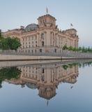 El edificio de Reichstag (Bundestag), Berlín Alemania Fotografía de archivo
