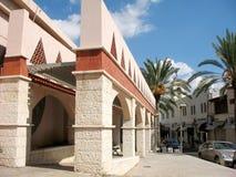 El edificio del Árabe-estilo Fotografía de archivo