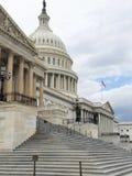 El edificio del capitolio de Estados Unidos, en Capitol Hill en Washingto imagenes de archivo