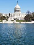 El edificio del capitolio de Estados Unidos, en Capitol Hill en Washingto fotografía de archivo libre de regalías