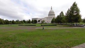 El edificio del capitolio de Estados Unidos