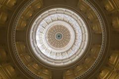 El edificio del capitolio en Austin Texas Foto de archivo