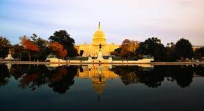 El edificio del capitolio, Washington DC, los E.E.U.U. Imágenes de archivo libres de regalías