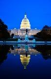 El edificio del capitolio, Washington DC, los E.E.U.U. Imagen de archivo