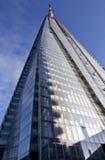 El edificio del casco bajo construcción en Londres Foto de archivo libre de regalías
