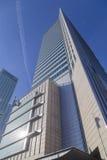 El edificio del centro financiero de Varsovia Fotos de archivo libres de regalías