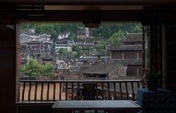 El edificio del chino tradicional Foto de archivo libre de regalías