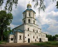 El edificio del colegio de Chernihiv, Ucrania Fotos de archivo libres de regalías
