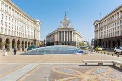 El edificio del Consejo de Ministros en Sofía central Imágenes de archivo libres de regalías