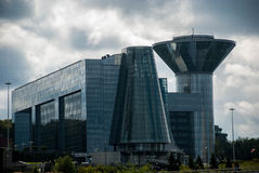 El edificio del gobierno de la región de Moscú Imagen de archivo libre de regalías