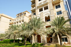 El edificio del hotel de lujo Imagen de archivo libre de regalías