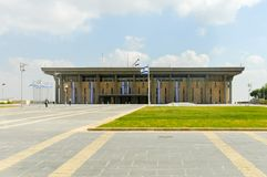 El edificio del Knesset - Jerusalén, Israel fotografía de archivo