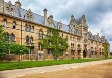 El edificio del prado Iglesia de Cristo Universidad de Oxford inglaterra fotos de archivo