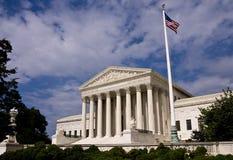 El edificio del Tribunal Supremo de Estados Unidos Fotografía de archivo