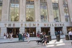 El edificio del triunfo Fotos de archivo libres de regalías