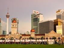 El edificio famoso de Sultan Abdul Samad en Kuala Lumpur, Malasia Imagenes de archivo