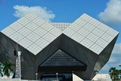 El edificio forma el museo de ciencia nacional Fotos de archivo