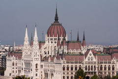 El edificio húngaro del parlamento Fotos de archivo