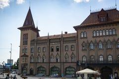 El edificio histórico del invernadero del estado en Saratov fue construido en 1902 imagen de archivo
