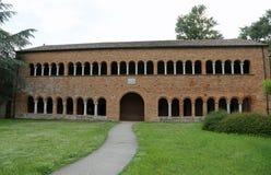 el edificio histórico llamó el della Ragione de Palazzo en la abadía de P Imagen de archivo libre de regalías