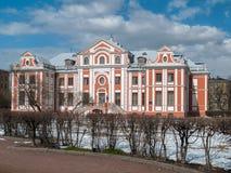 El edificio histórico viejo de la cámara de Kikiny en la ciudad de Fotografía de archivo