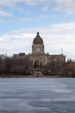 El edificio legislativo en Regina Foto de archivo libre de regalías